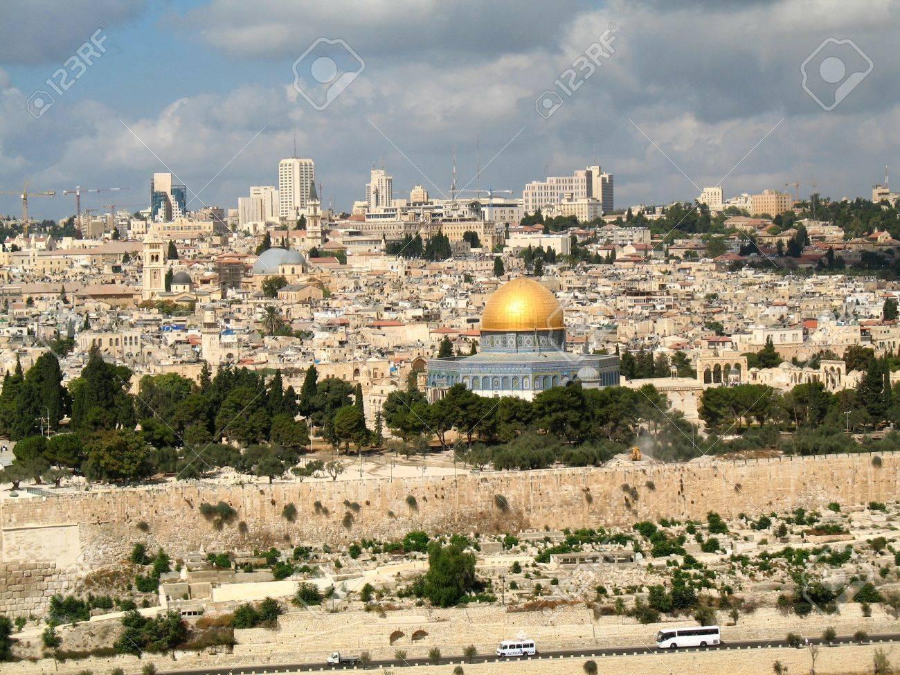 11810188-la-ciudad-vieja-de-jerusalén-israel