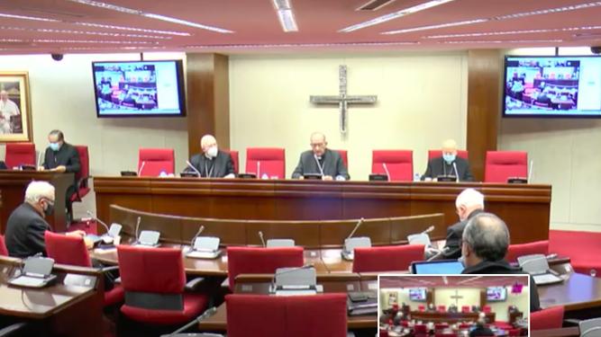 Omella se dirige a los obispos