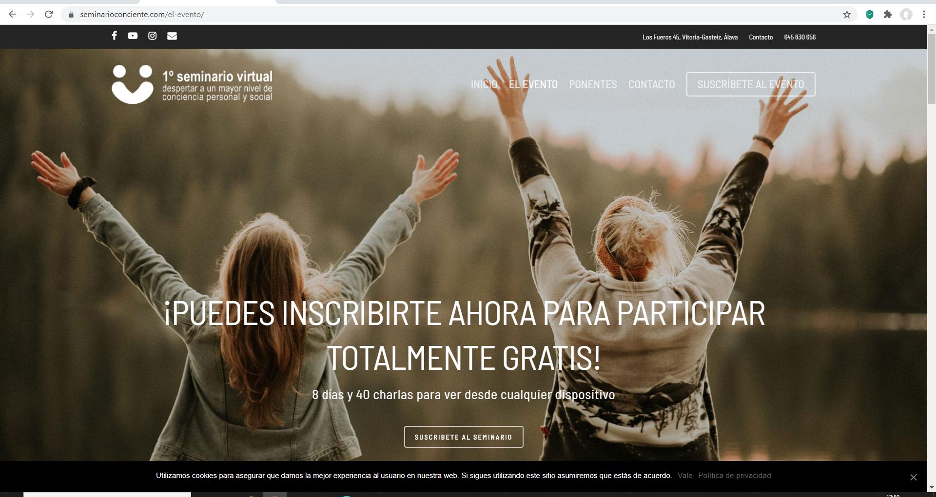 Web Seminario Despèrtar de la Conciencia -1