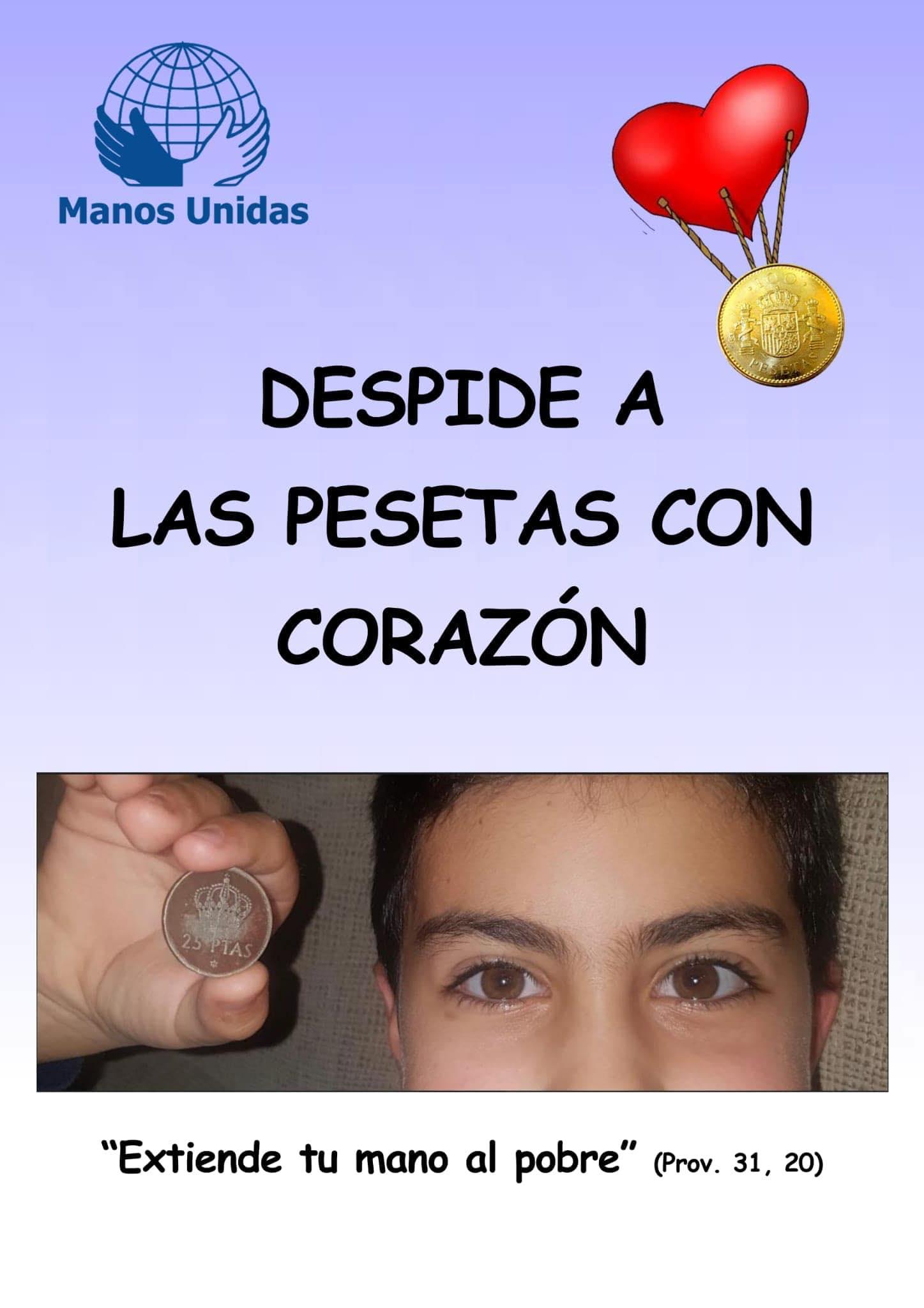 cartel peseta