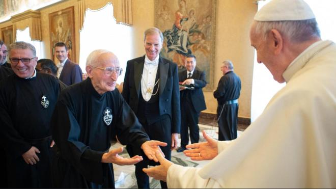 El Papa y los pasionistas