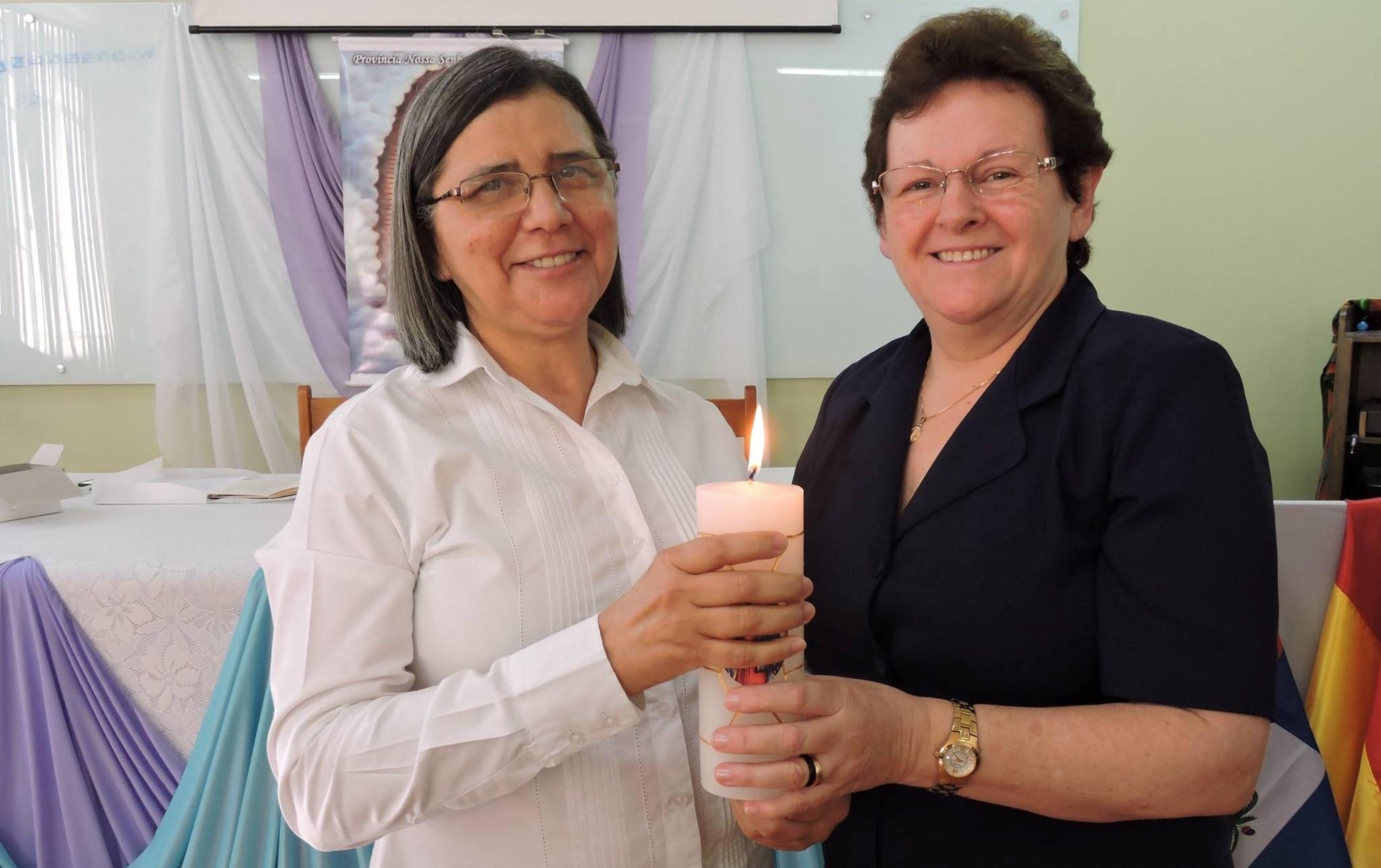 Maria Freire e Marlise Hendges