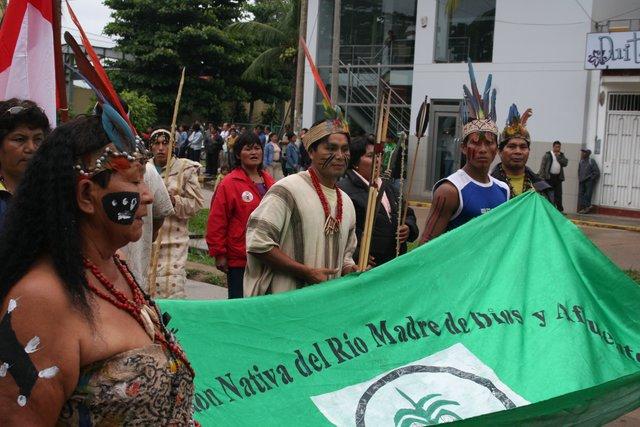 Indígenas del Madre de Dios