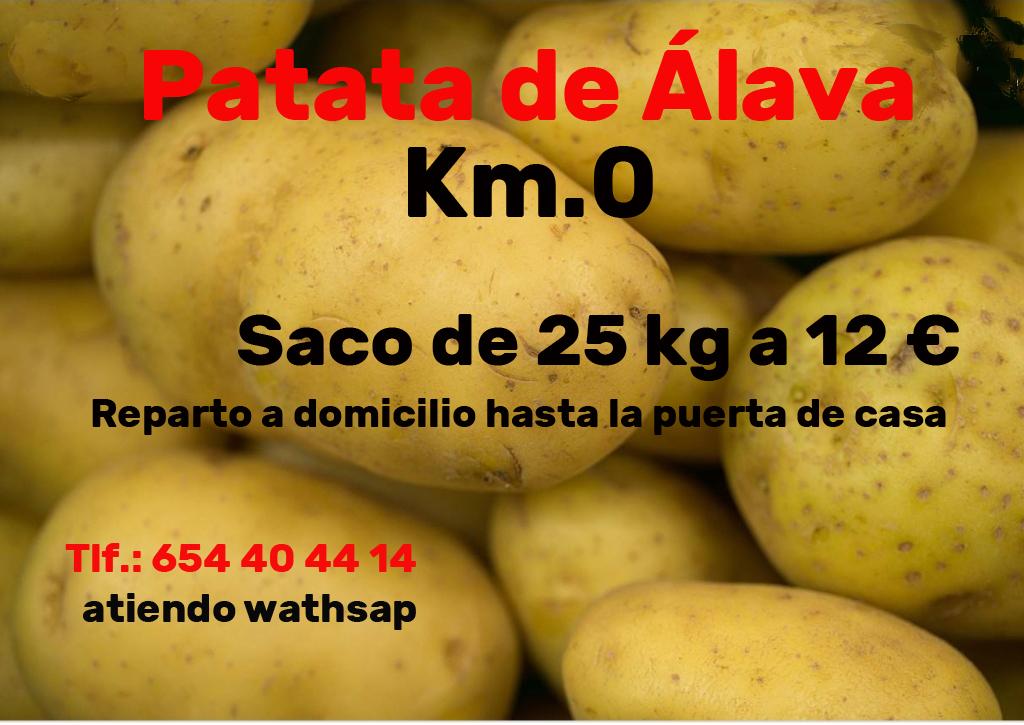 Patata de Álava anuncio