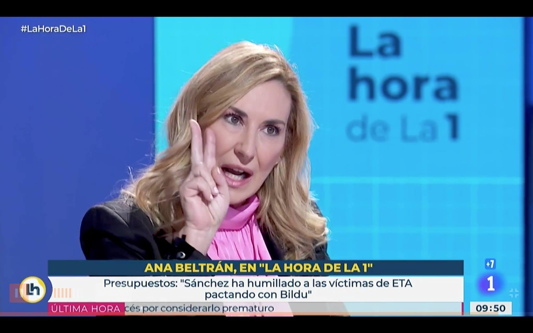 Ana Beltrán acusa a Bildu