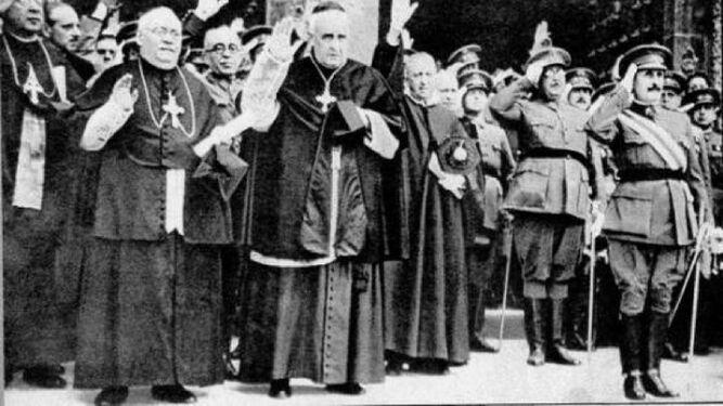 Los obispos que apoyaron a Franco