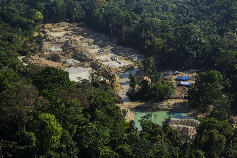 Minería ilegal en la Amazonía