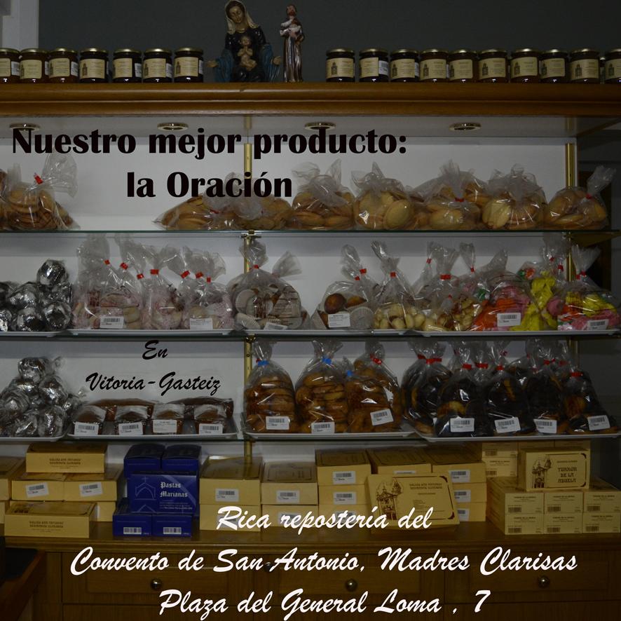 Publicidad Clarisas de San Antonio mas peque
