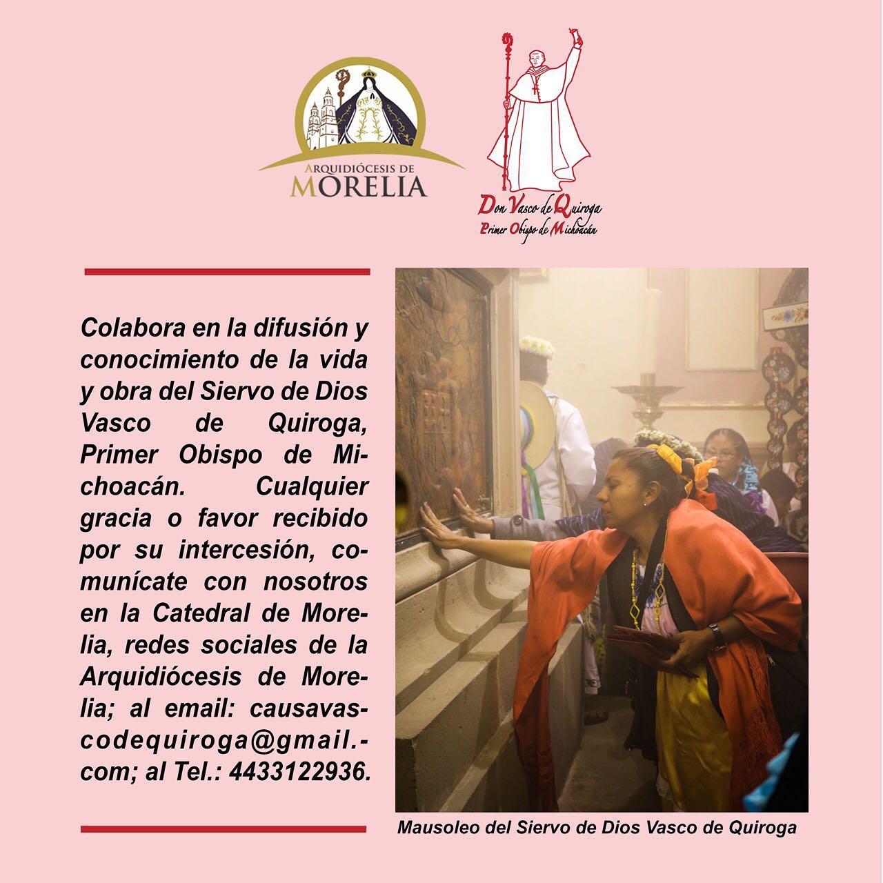 Intercesión Vasco de Quiroga