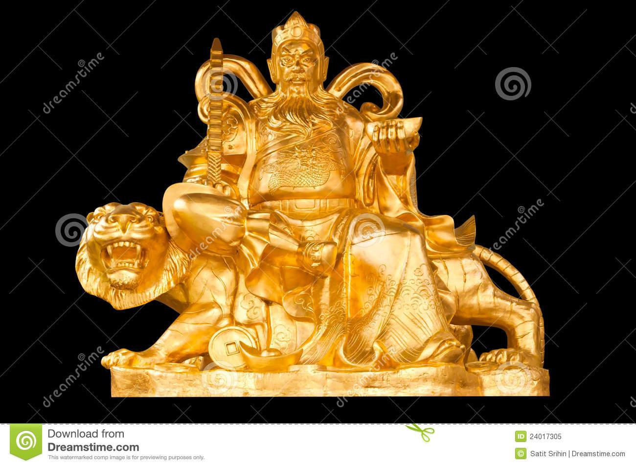 dios-chino-de-oro-del-dinero-de-la-prosperidad-24017305