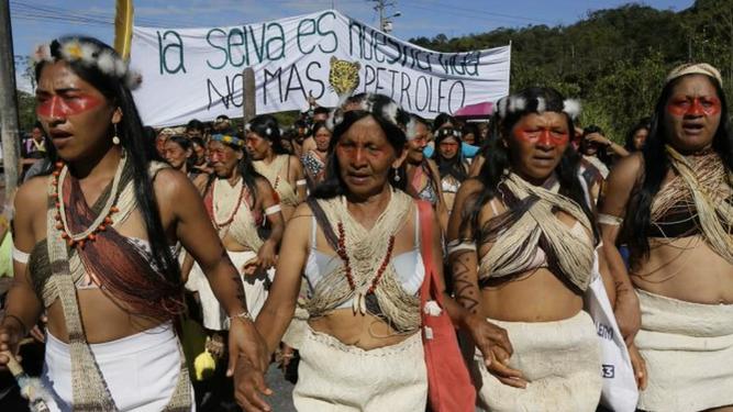 Mujeres de la Amazonía