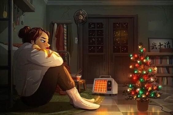 chica-ante-arbol-de-navidad