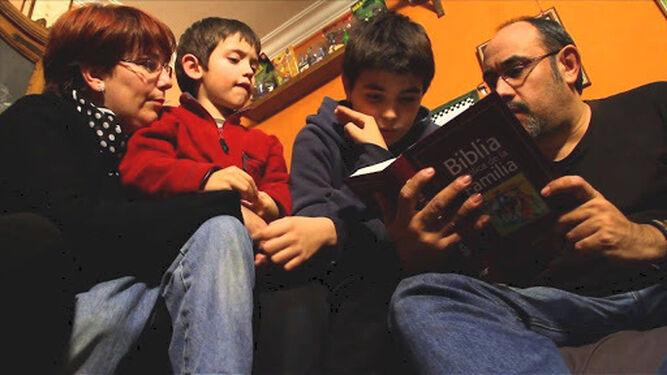 La Biblia en familia.