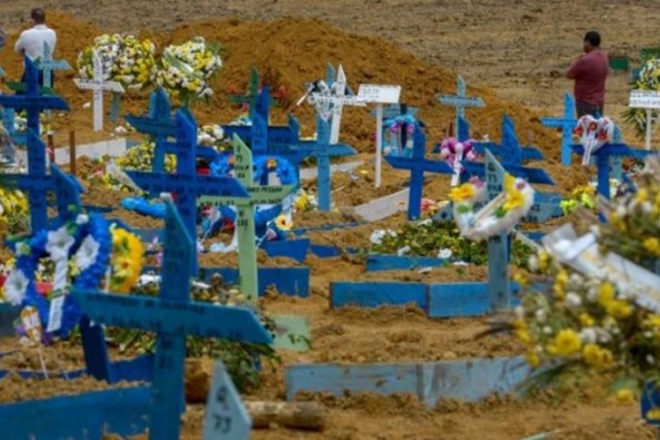 Cemeterio en Manaos