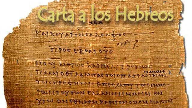 Hebreos, manuscrito