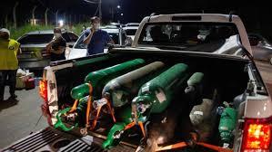 Falta oxígeno en Manaos