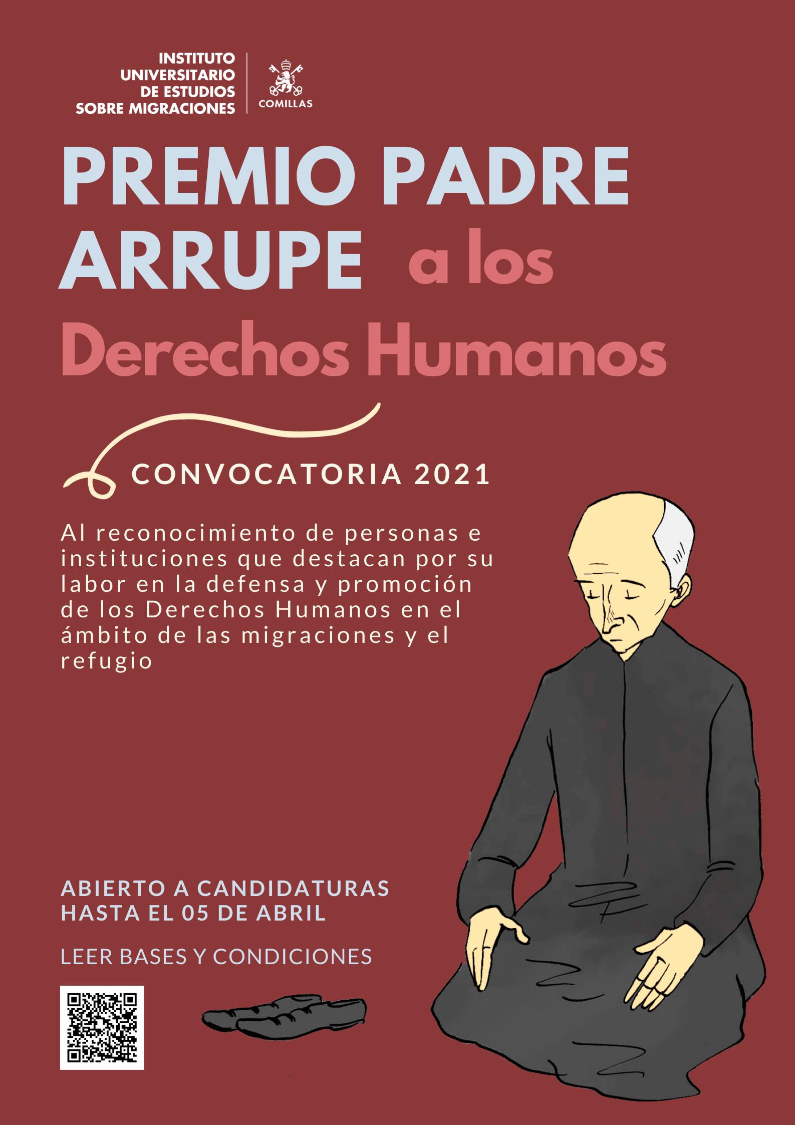 Premio Padre Arrupe 2021