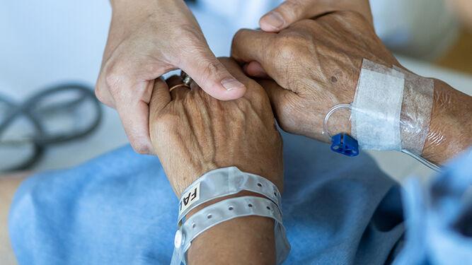 """""""Sí a morir con dignidad, con los mejores cuidados y sin dolor"""""""