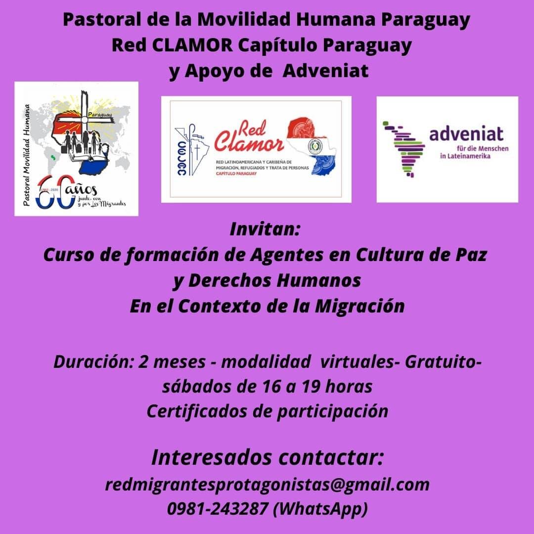 Curso migrantes paraguay