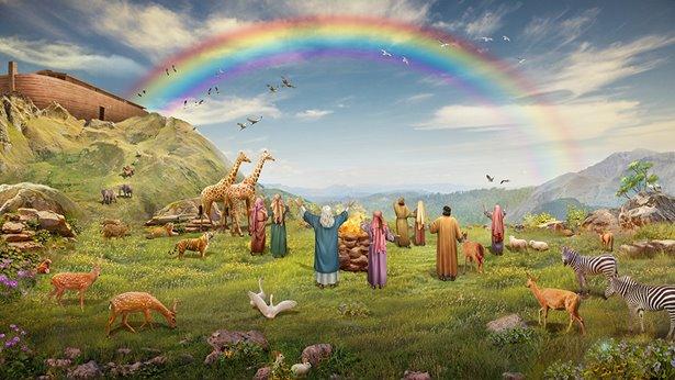 cuando-ellos-ven-el-arcoiris-vitorean-con-los-animales