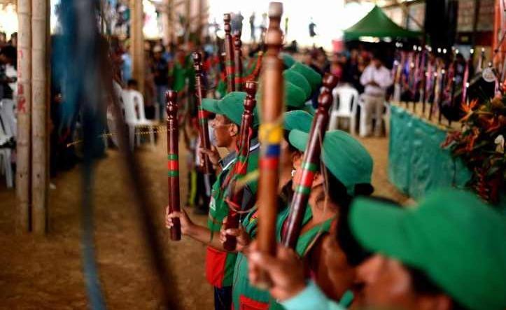 Colombia - Movilización indígena CRIC