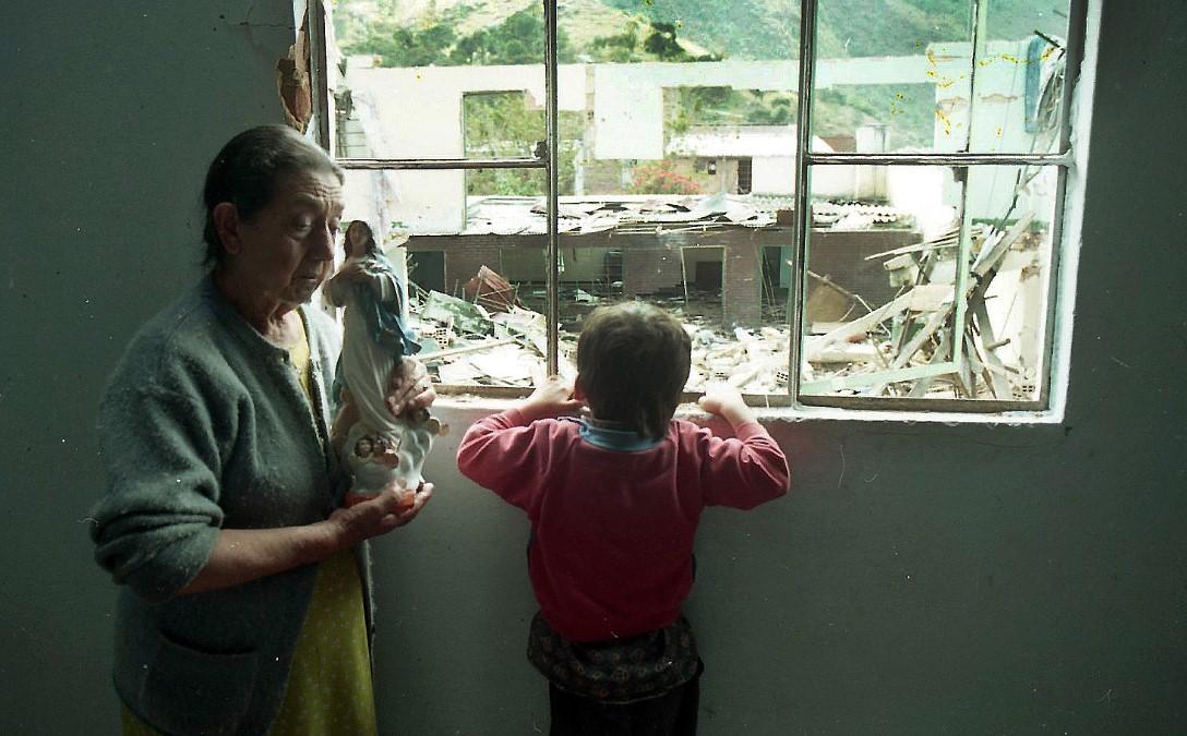 Colombia – toma guerrillera de Cabrera 20 agosto 1997