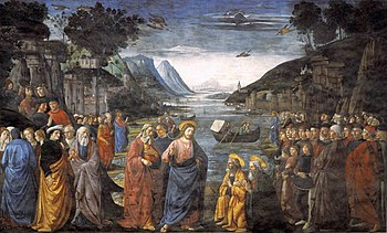 350px-Ghirlandaio,_Domenico_-_Calling_of_the_Apostles_-_1481