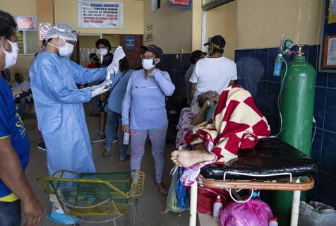 Colapso sanitário Brasil