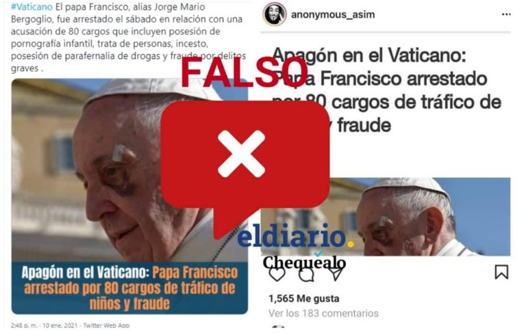 Francisco Fake news
