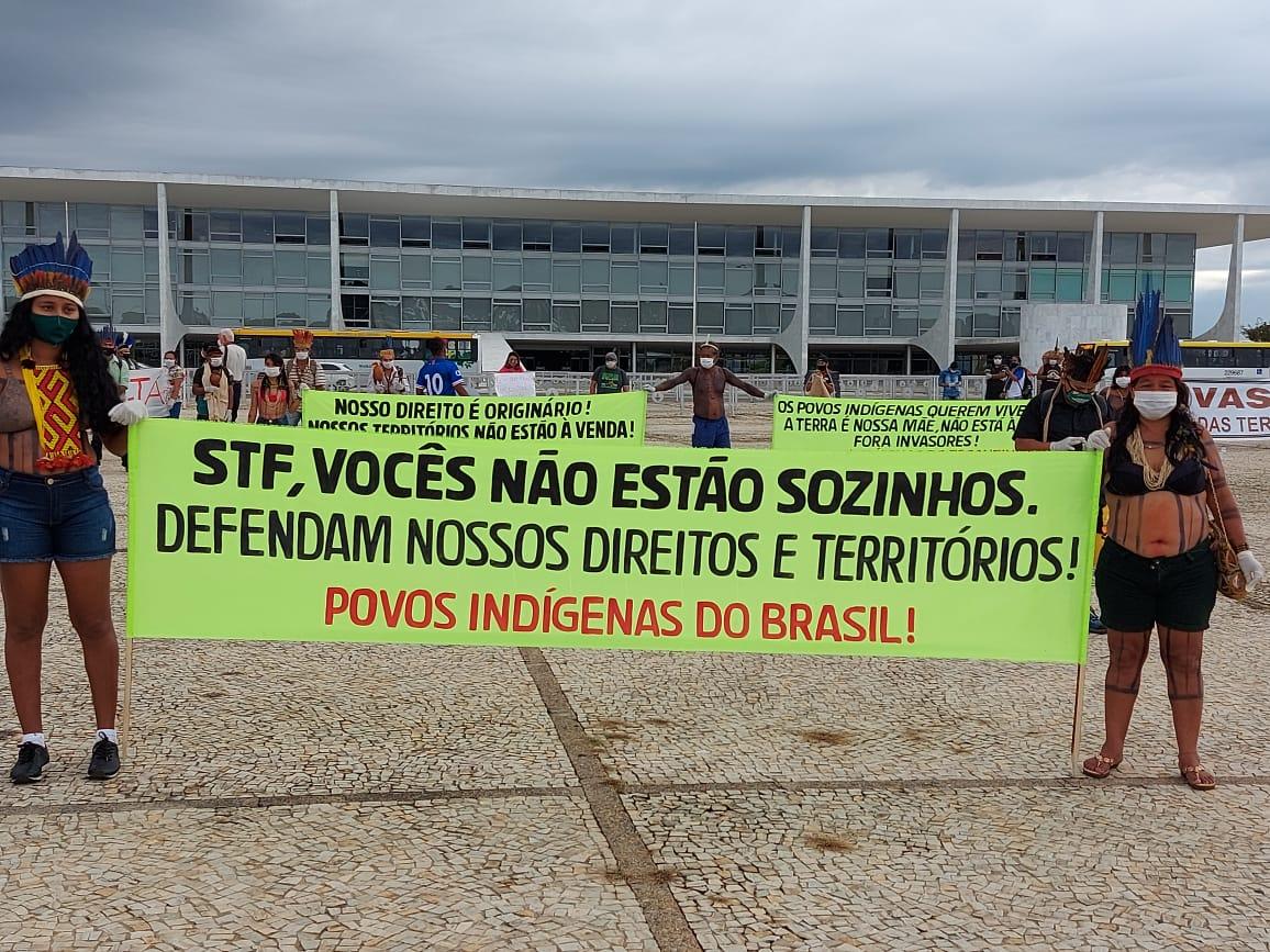 Indígenas em Brasília
