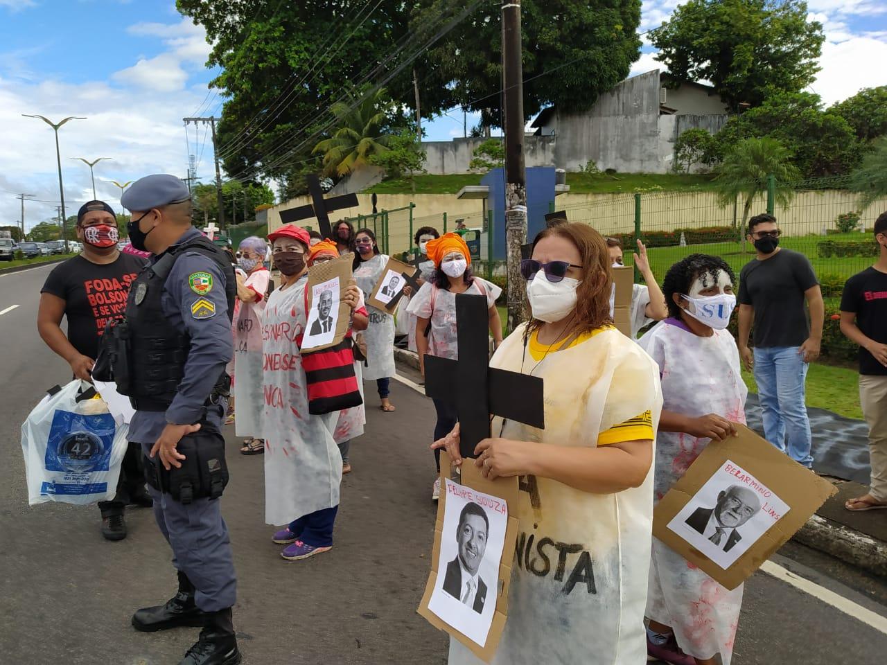 Protestas contra Bolsonaro