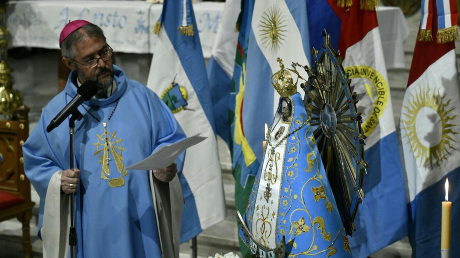 Obispos argentinos y Luján