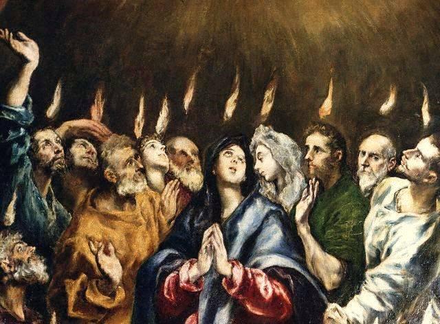 2020-05-31-Glosa-Pentecostes-el-greco
