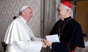 Cardenal Odilo con el Papa Francisco