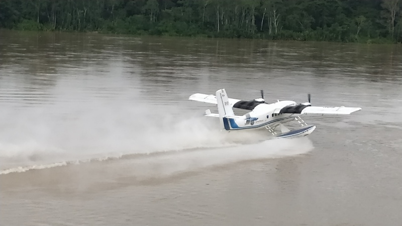 Hidroavioneta FAP a Soplín Vargas