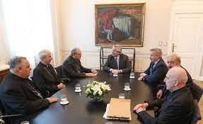Presidencia del episcopado argentino con Alberto Fernández