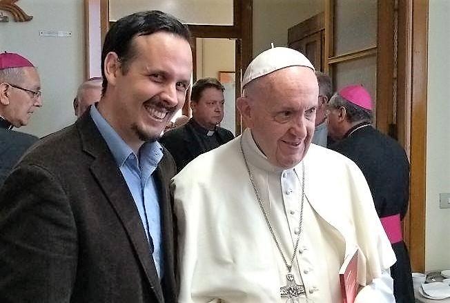 Mauricio López Papa Francisco