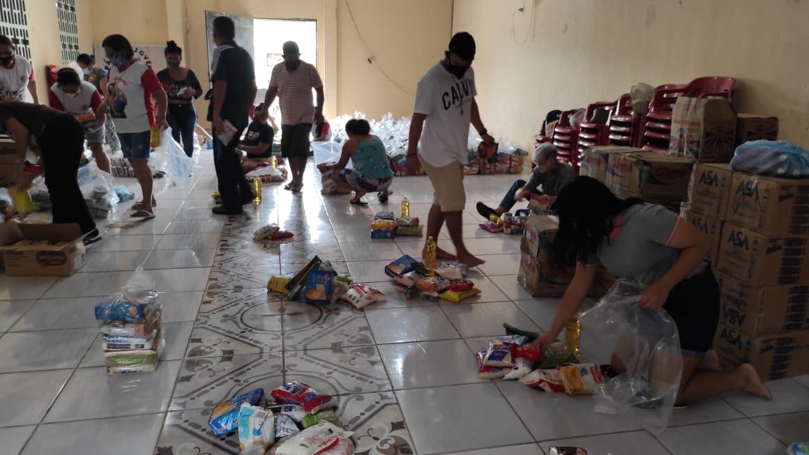 Combatir el hambre en la diócesis de Alto Solimões
