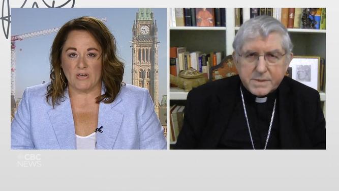 El cardenal Collins en Rose Mary Barton Live.