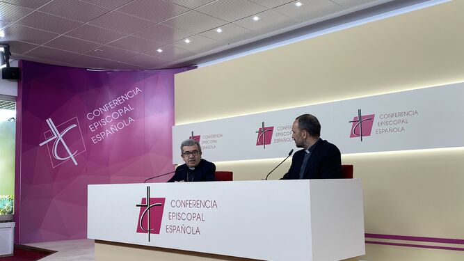Luis Argüello, portavoz de la CEE.