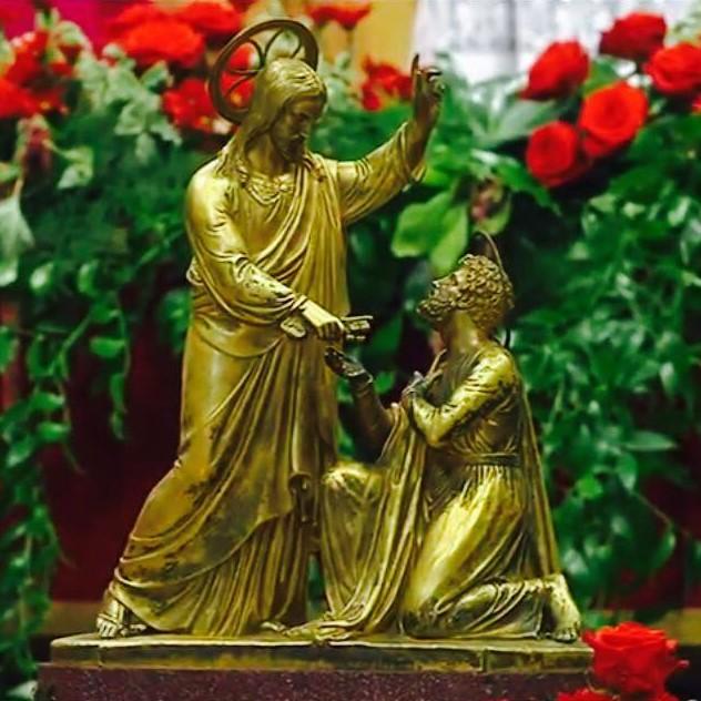 consegna delle chiavi altare