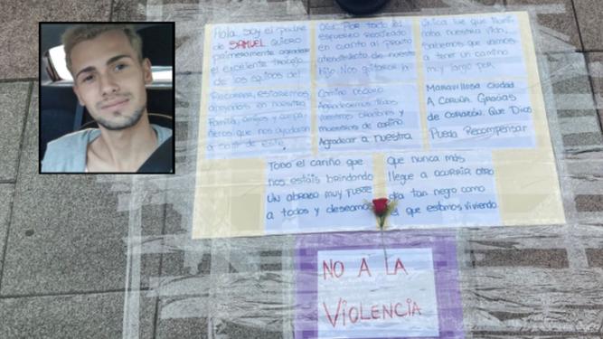 Carta del padre de Samuel Luiz