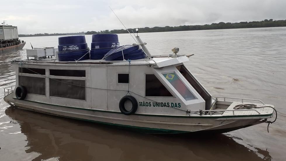 Lancha Santo Antônio do Iça
