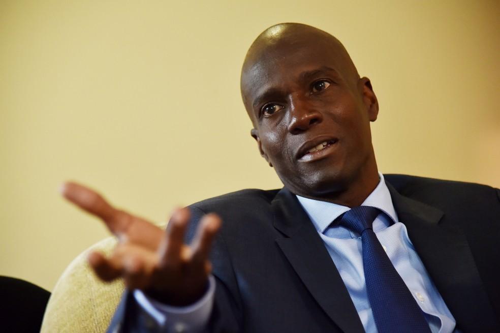 Presidente asesinado de Haití