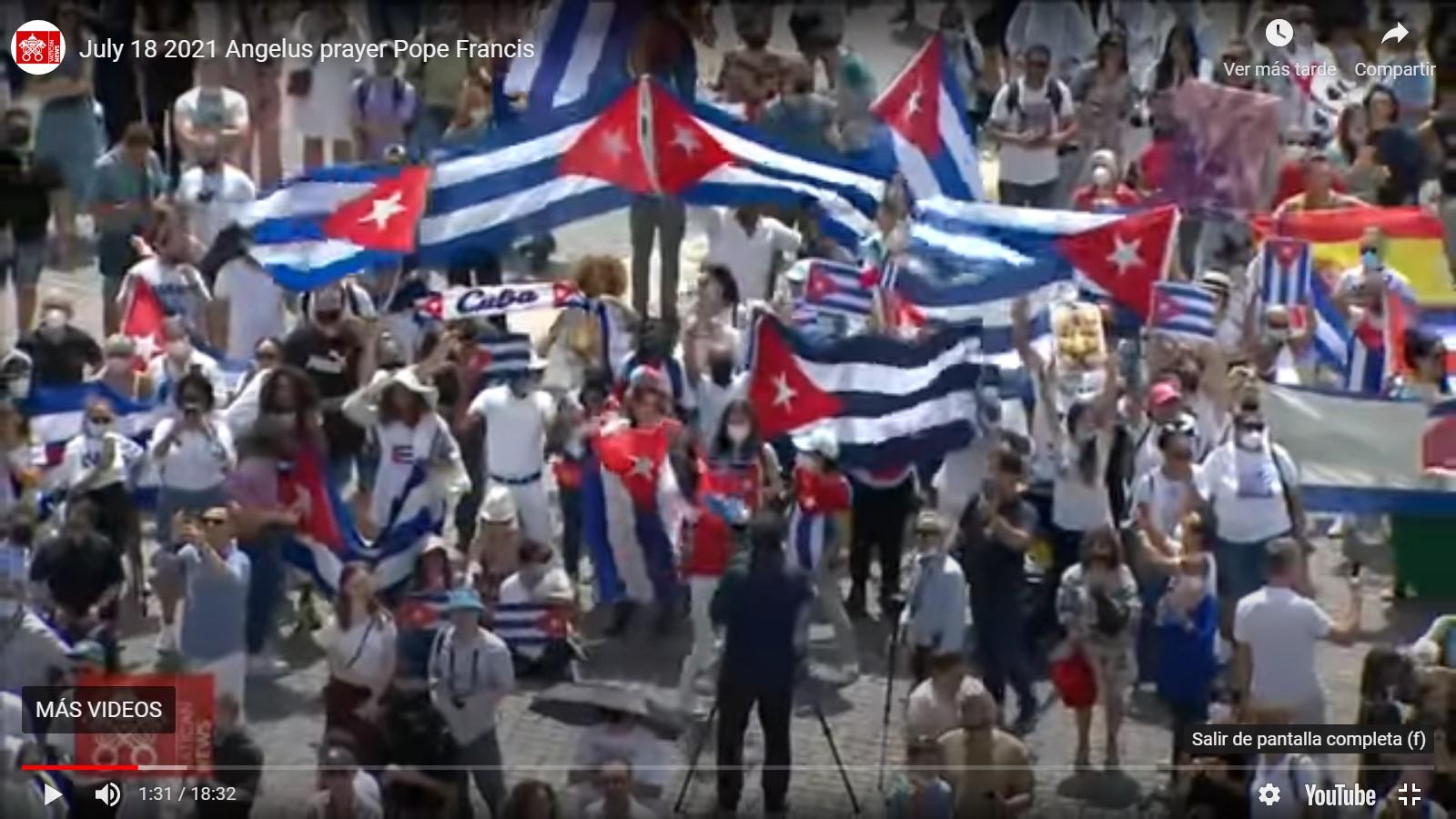 Cuba Angelus 18 julio 2021