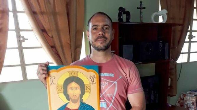 Rubén de la Trinidad, sacerdote en la Arquidiócesis de La Habana
