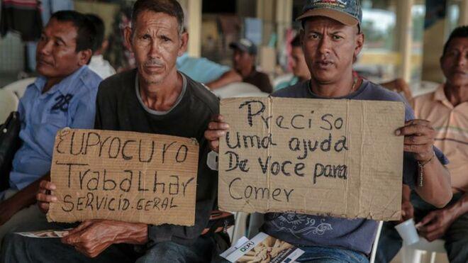 Migrantes-venezolanos-Brasil
