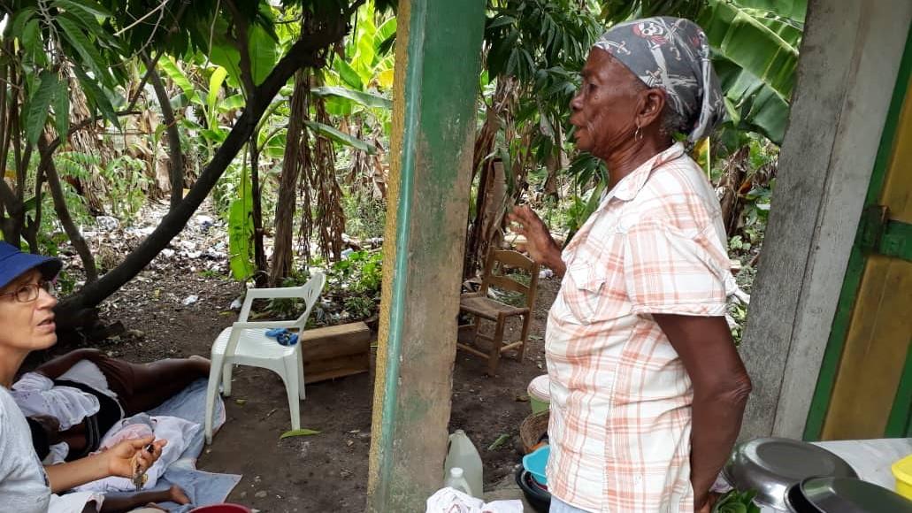 Misioneras brasileñas en Haití