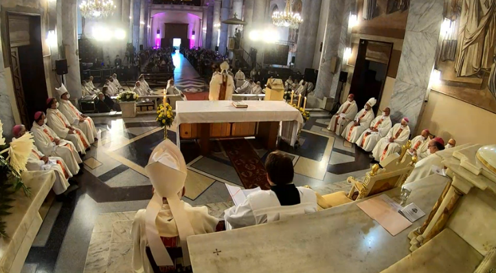 Ordenación Monseñor Antúnez