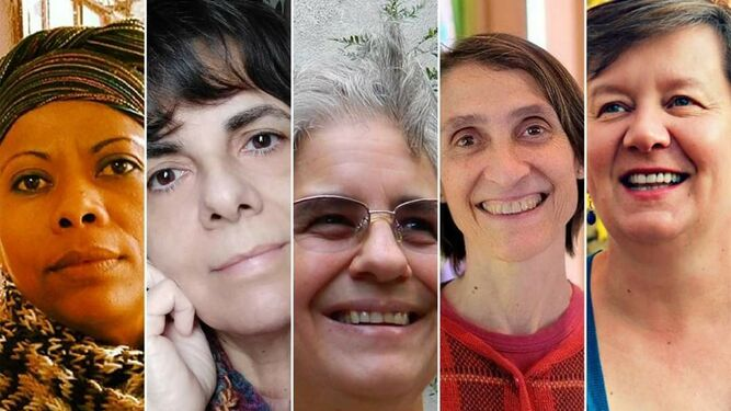 Las teólogaas homenajeadas en Brasil